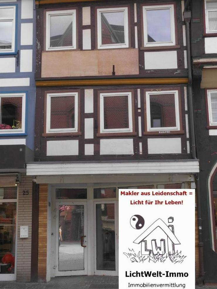 Northeim: Gewerbeimmobilie in TOP-Lage in der Fußgängerzone - Gewerbeimmobilie kaufen - Bild 1
