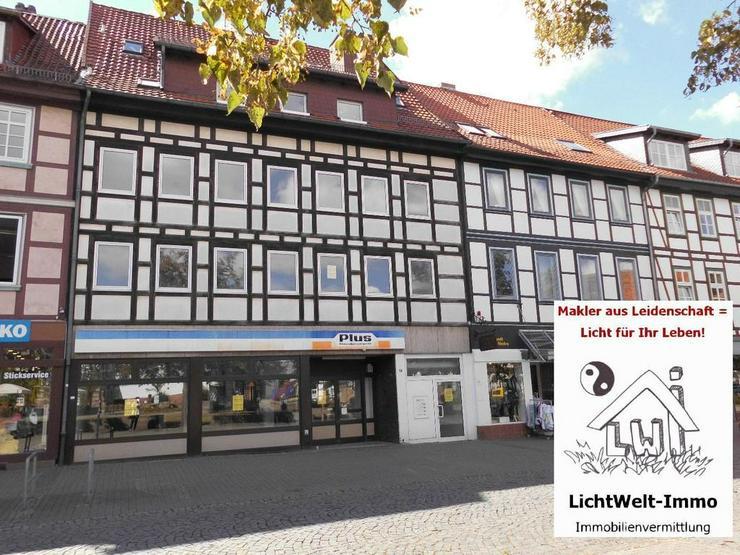 Northeim: Wohn- und Geschäftshaus mit Parkdeck in TOP-Lage sucht Kapitalanleger oder Inve...