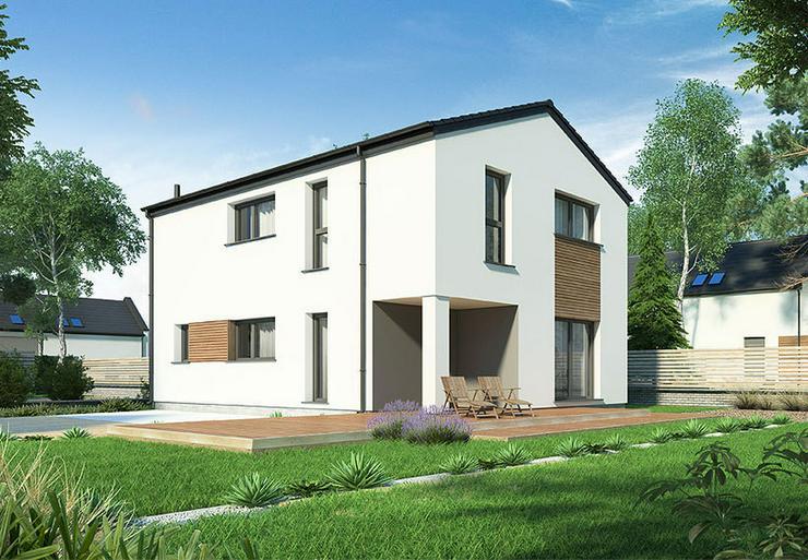Bild 2: Fertighaus Eigenheim für schmale Grundstücke