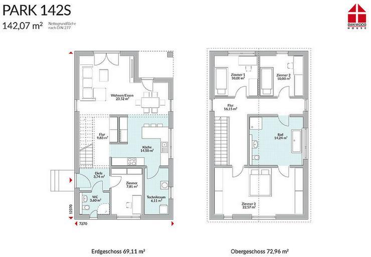 Bild 3: Fertighaus Eigenheim für schmale Grundstücke