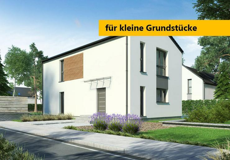 Fertighaus Eigenheim für schmale Grundstücke