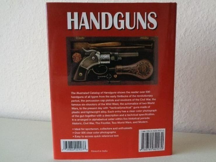 Bild 2: D. MILLER: THE ILLUSTRATED CATALOG OF HANDGUNS