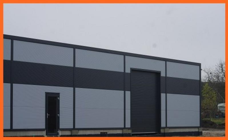 Bild 4: Stahlhalle Werkstatthalle Lager Logistikhalle Gewerbehalle 30m x 12m