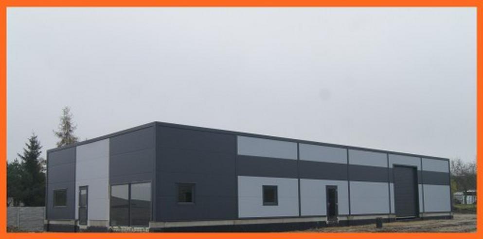 Bild 2: Stahlhalle Werkstatthalle Lager Logistikhalle Gewerbehalle 30m x 12m