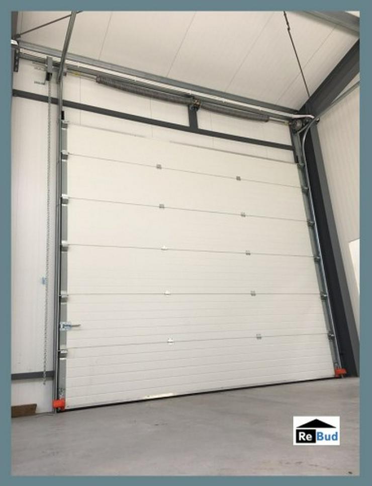 Bild 5: Stahlhalle Werkstatthalle Lager Logistikhalle Gewerbehalle 30m x 12m