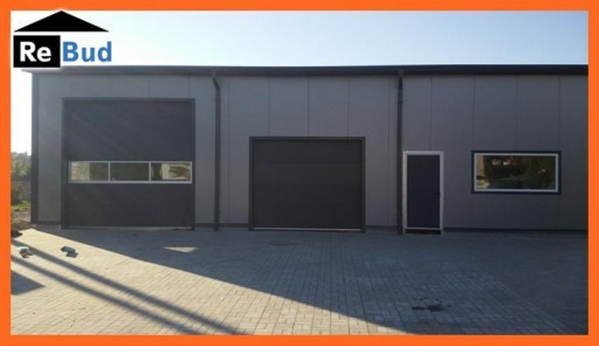 Bild 2: Gewerbehalle Stahlhalle Werkstatthalle mit Beurobereich