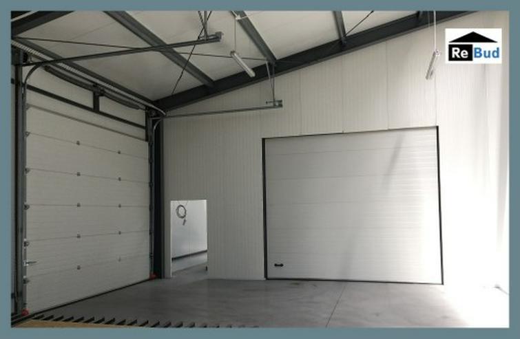 Bild 4: Gewerbehalle Stahlhalle Werkstatthalle mit Beurobereich