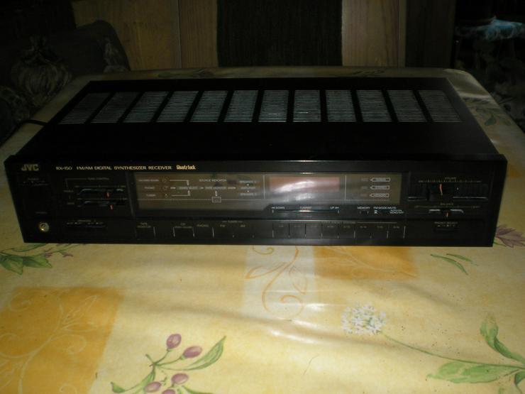 JVC-Receiver, Onkyo-Tuner, BSR-Plattenspieler
