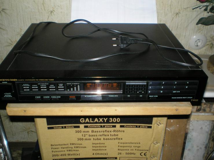 Bild 4: JVC-Receiver, Onkyo-Tuner, BSR-Plattenspieler