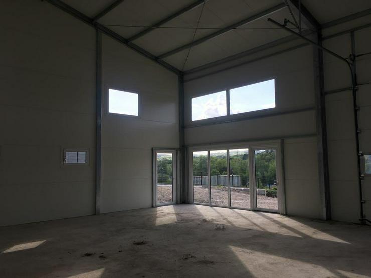 Bild 2: Stahlhalle Werkstatthalle Gewerbehalle Mehrzweckhalle mit Beurobereich