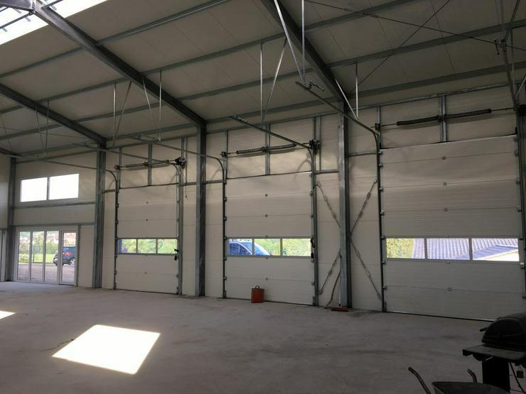 Bild 5: Stahlhalle Werkstatthalle Gewerbehalle Mehrzweckhalle mit Beurobereich