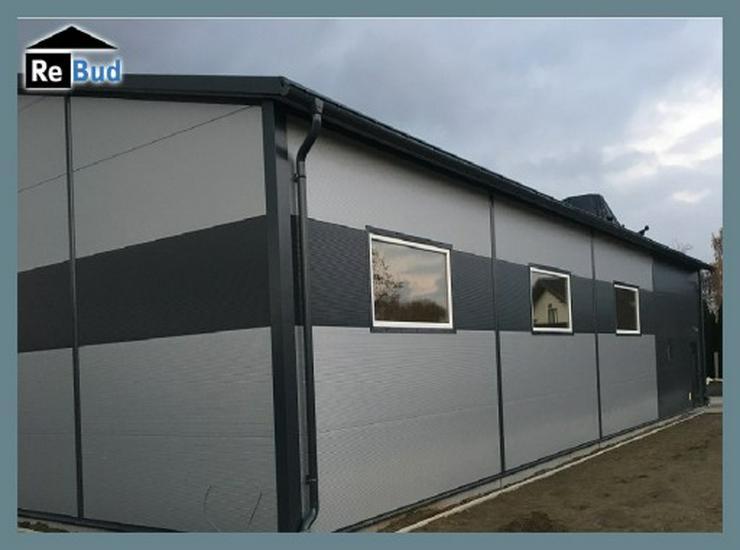 Bild 5: Gewerbehalle Stahlhalle Produktionshalle Lager mit Beurobereich 16m x 12m