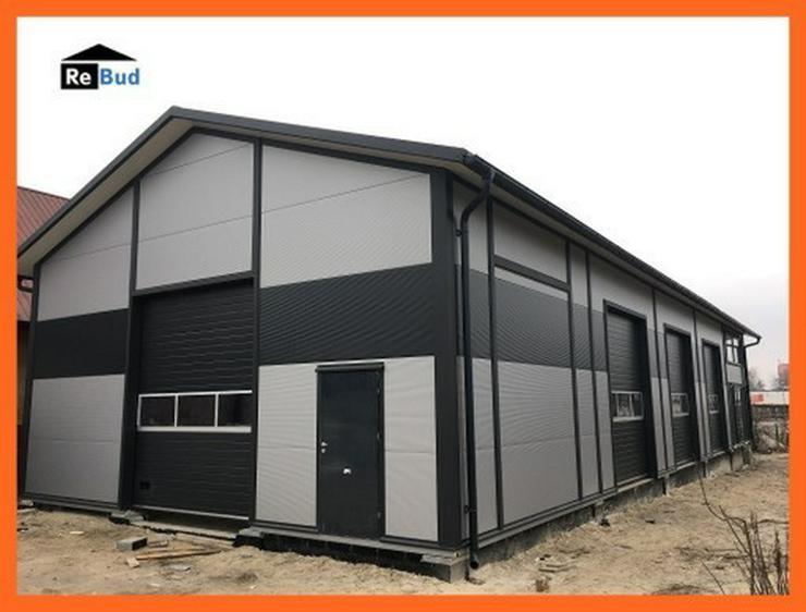 isolierte Stahlhalle Lagerhalle