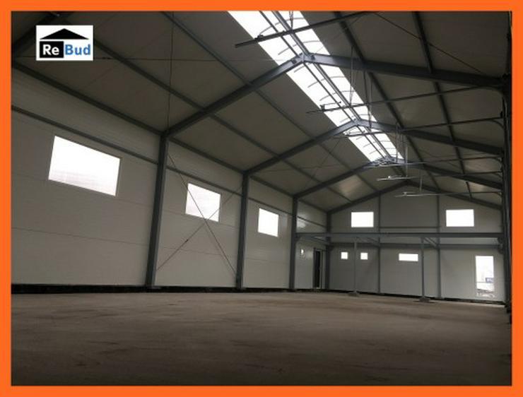 Bild 2: Mehrzweckhalle Stahlhalle Lagerhalle Gewerbehalle mit Beurobereich 25m x 10m