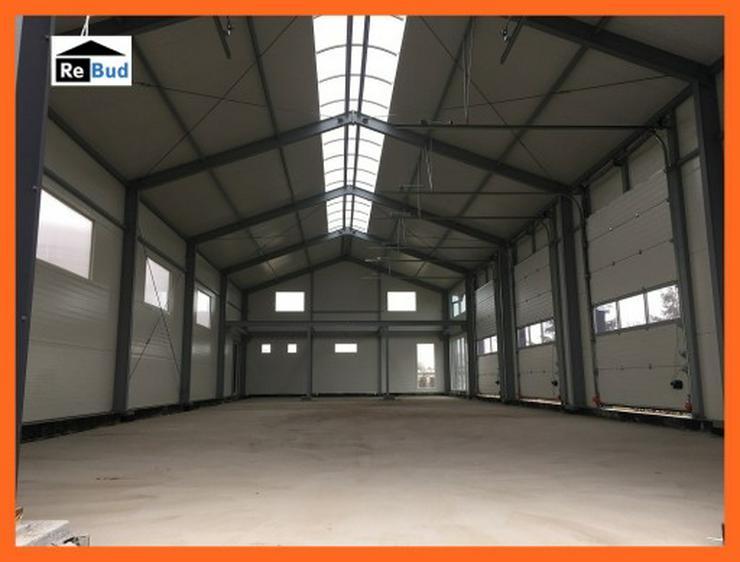 Bild 3: Mehrzweckhalle Stahlhalle Lagerhalle Gewerbehalle mit Beurobereich 25m x 10m