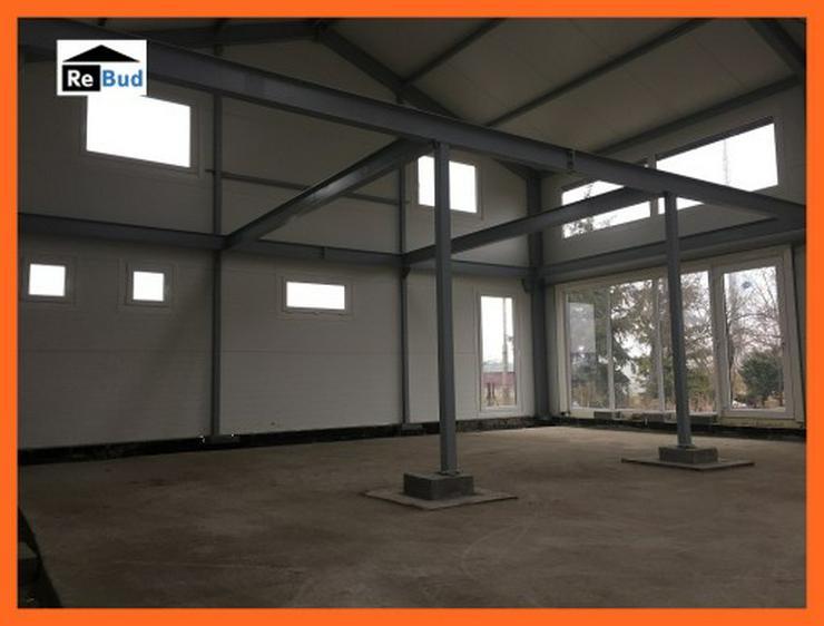 Bild 7: Mehrzweckhalle Stahlhalle Lagerhalle Gewerbehalle mit Beurobereich 25m x 10m