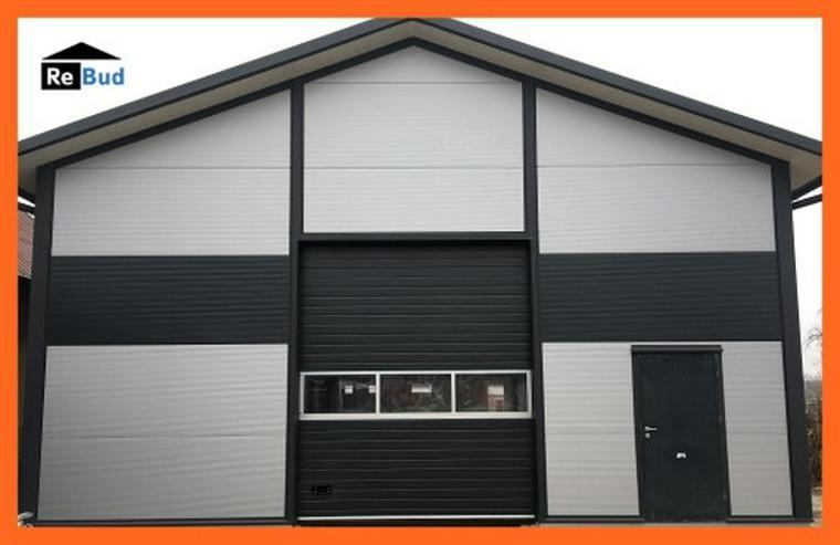 Bild 6: Mehrzweckhalle Stahlhalle Lagerhalle Gewerbehalle mit Beurobereich 25m x 10m
