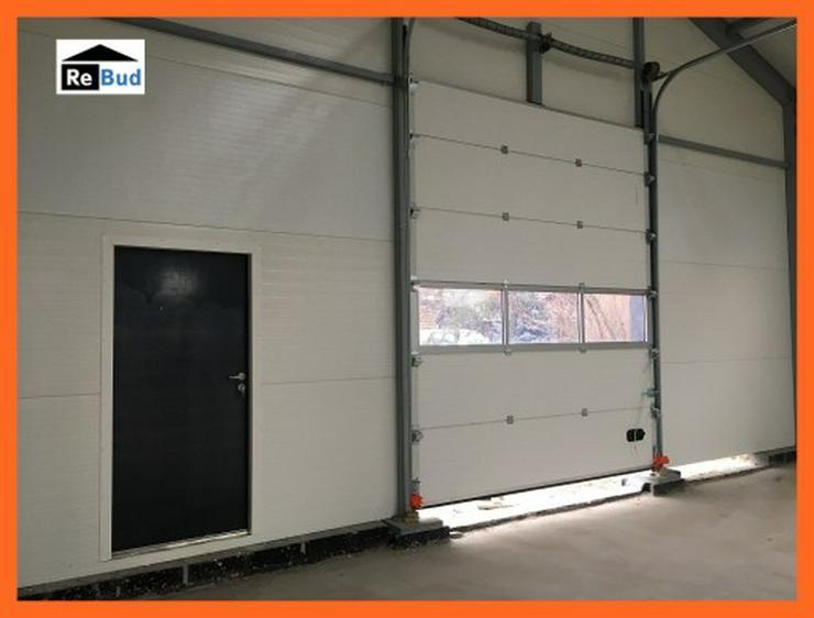 Bild 5: Mehrzweckhalle Stahlhalle Lagerhalle Gewerbehalle mit Beurobereich 25m x 10m