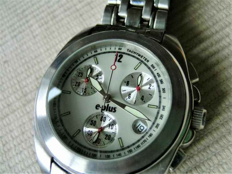 E-Plus Chronograph Eta Werk