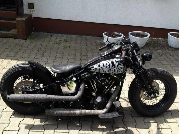 1998 Harley Davidson -Springer-Bobber-