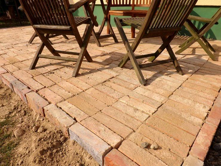 Bild 5: Ziegelpflaster Bodenziegel Pflasterklinker DIY
