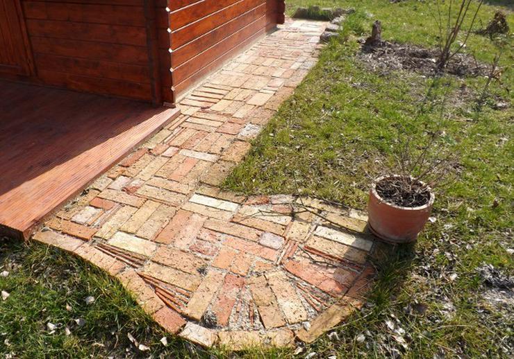 Bild 6: Ziegelpflaster Bodenziegel Pflasterklinker DIY