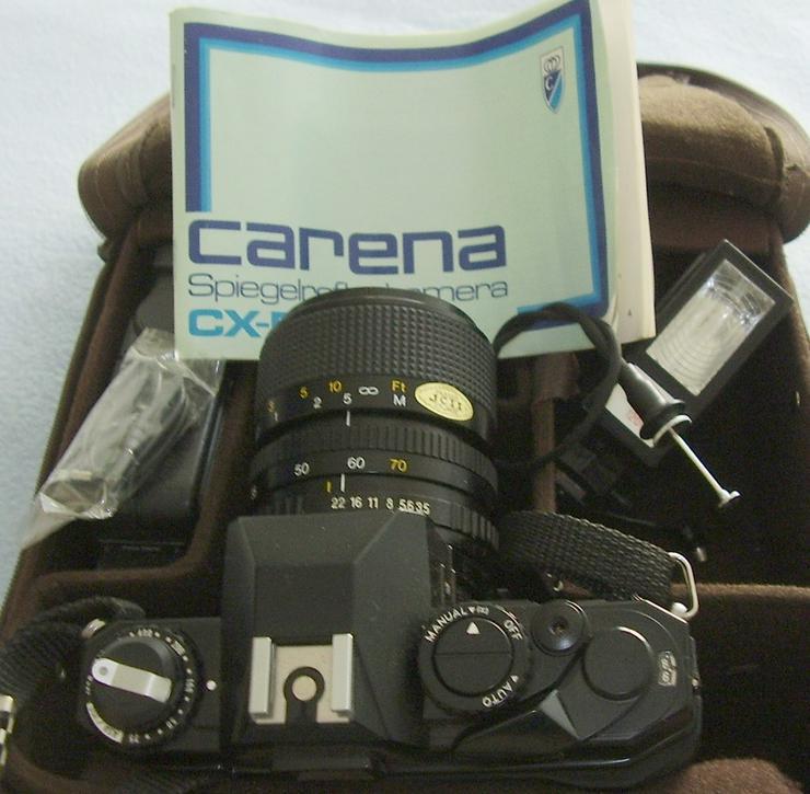Bild 5: Verkaufe Spiegelreflexkamera Carena CX500