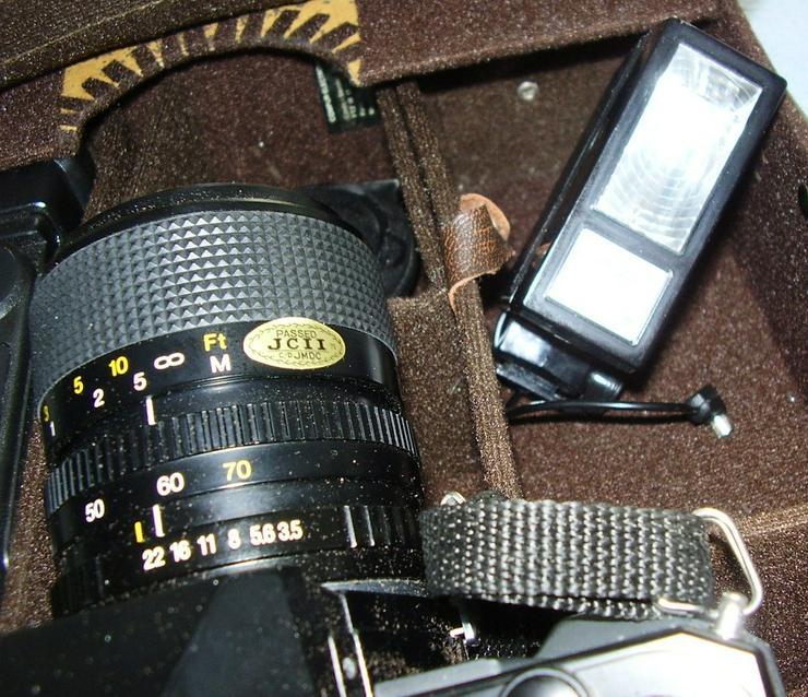 Bild 3: Verkaufe Spiegelreflexkamera Carena CX500