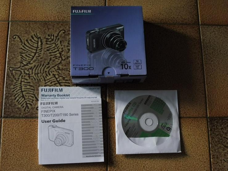 Kamera v. Fuji Film+Tasche +Speicherk. 32 GB - Bild 1