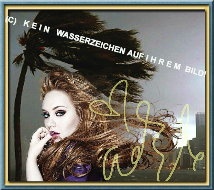Bild 2:  ADELE liebt Wind und Wetter!