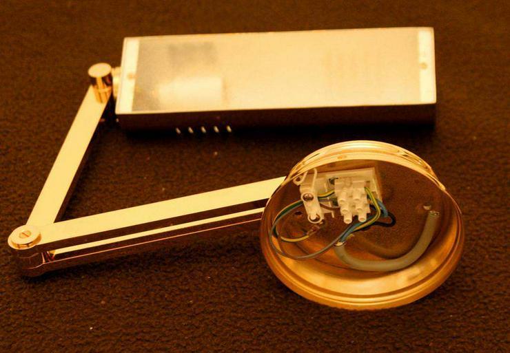 Bild 2: Lampe GOLD klappbare Wandlampe EDEL