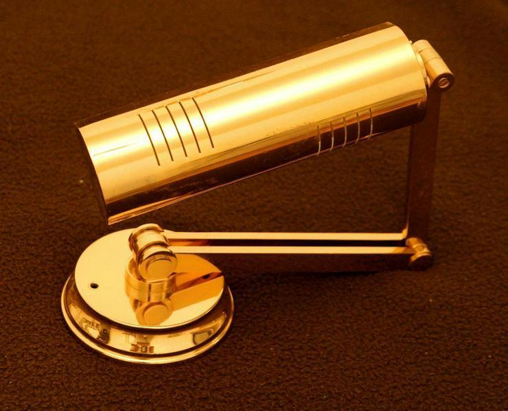 Lampe GOLD klappbare Wandlampe EDEL - Decken- & Wandleuchten - Bild 1