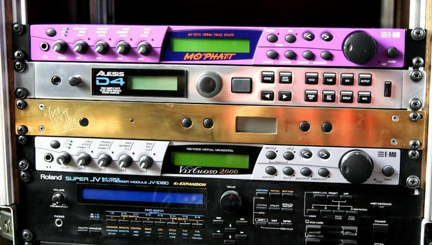Bild 3: Roland Super JV 1080 mit Expansion und CARD