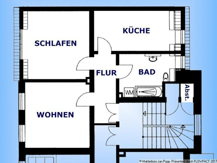 Einkaufsgünstige Wohnung in Zentrumsnähe
