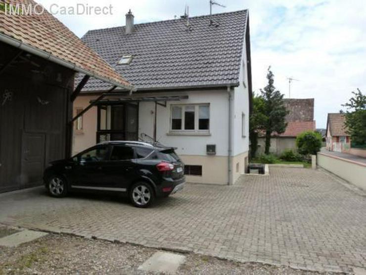 Bild 2: Einfamilienhaus mit Nebengebäude (ausbaufähig) - Kembs Elsass