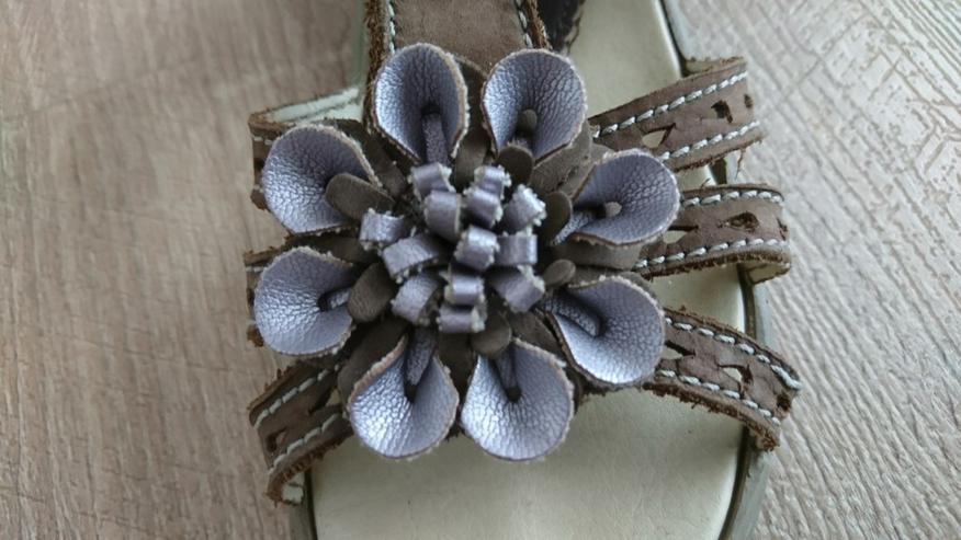 Braune Sandalen für Mädchen - Gr. 31