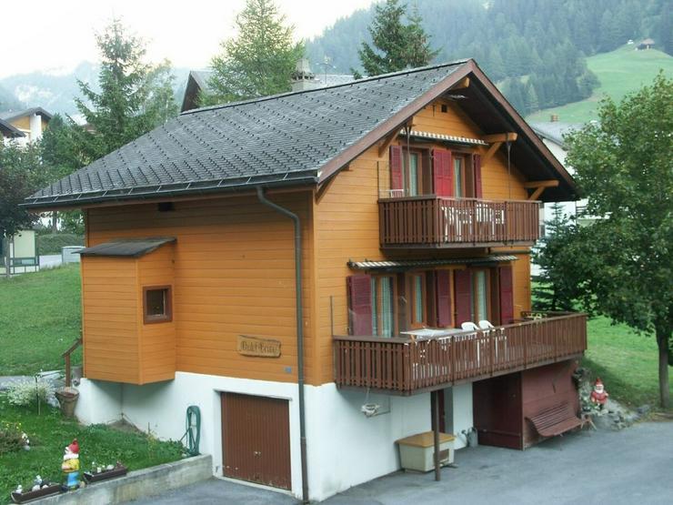 Gemütliches Chalet Gruny mit 2 Wohnungen