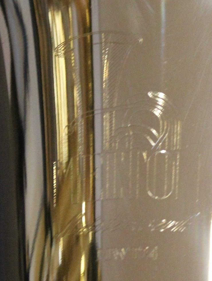 Bild 3: Melton Tenorhorn, Goldmessing, 4 Ventile NEU