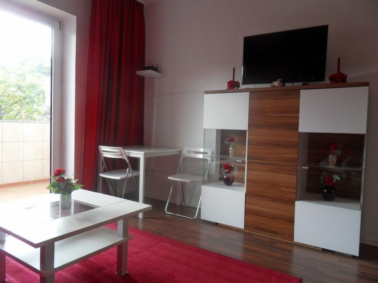 Bild 3: * Komplett möbliert + sehr gepflegt + ansprechender Schnitt + Balkon + Aufzug + Internet ...