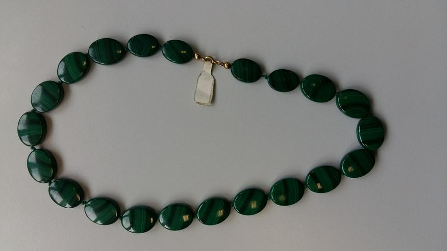 Echte Malachit Kette zu Verkaufen - Halsketten & Colliers - Bild 1
