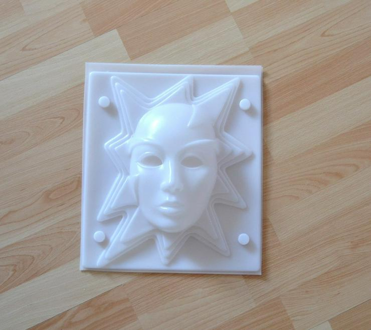 Gießform Maske mit Stern