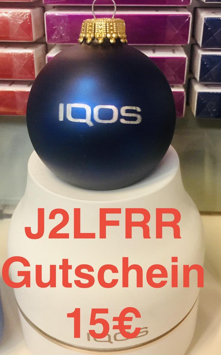 IQOS Gutschein Code J2LFRR 15 € gilt auch für IQOS 3   ( 44€ )
