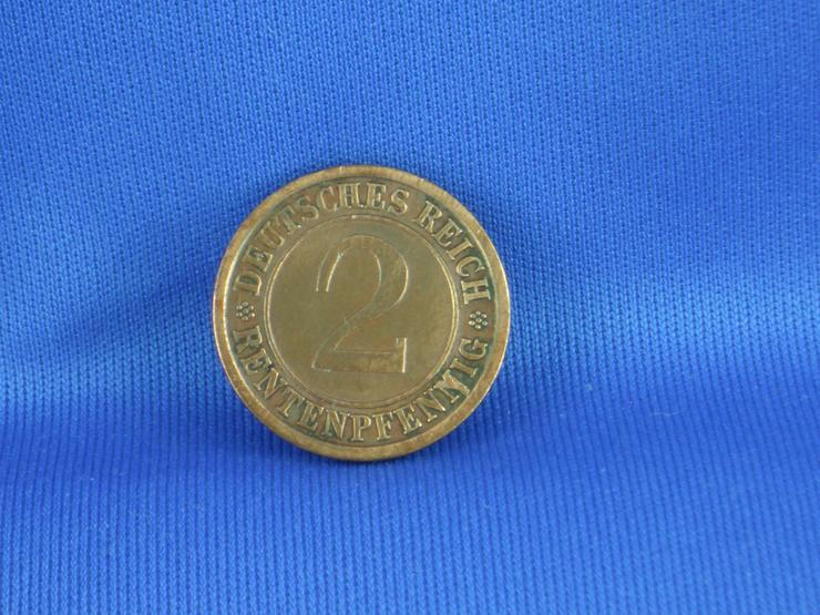 2 Rentenpfennig  1924 j /  VERPRÄGUNG - Deutsche Mark - Bild 5