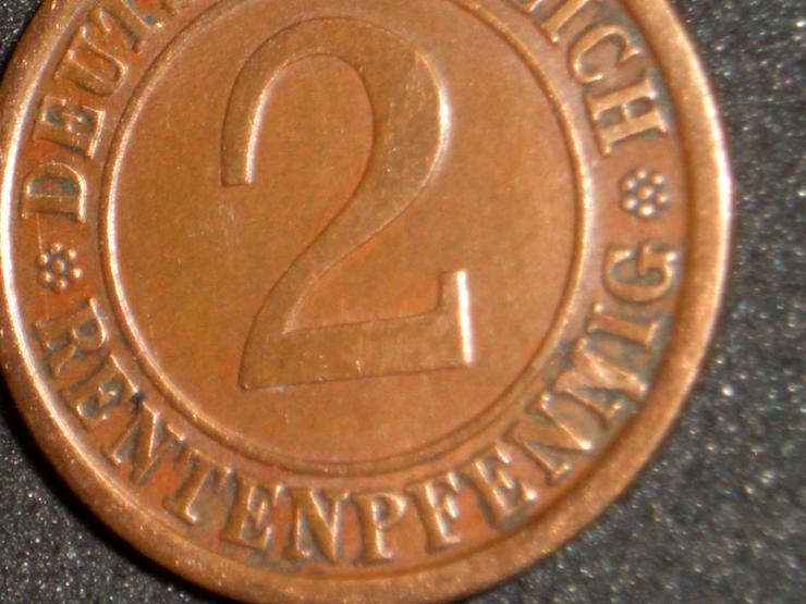 2 Rentenpfennig  1924 j /  VERPRÄGUNG