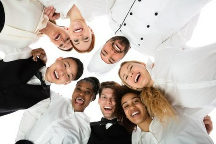 Bild 2: Servicekräfte in Hotellerie und Gastronomie