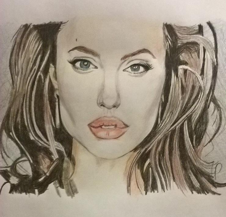 Geschenkidee, Porträt, Zeichnung, Malerei - Gemälde & Zeichnungen - Bild 1