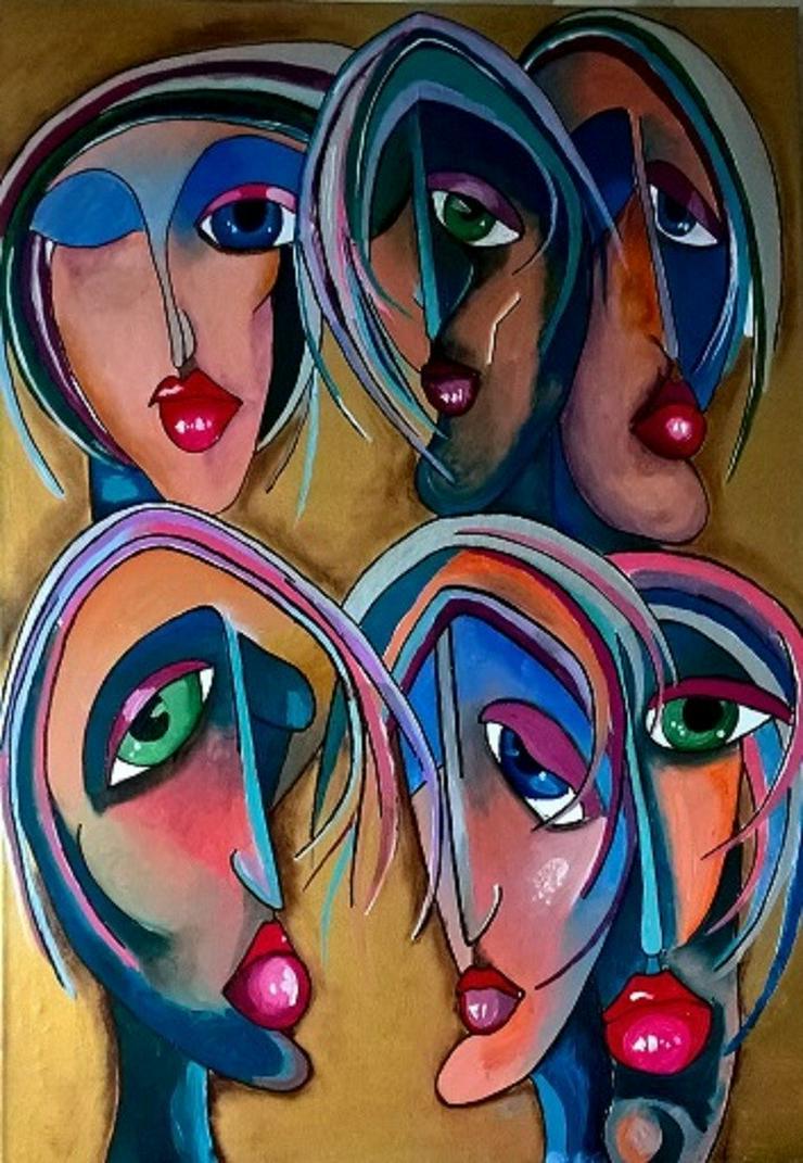 Bild 6: Geschenkidee, Porträt, Zeichnung, Malerei