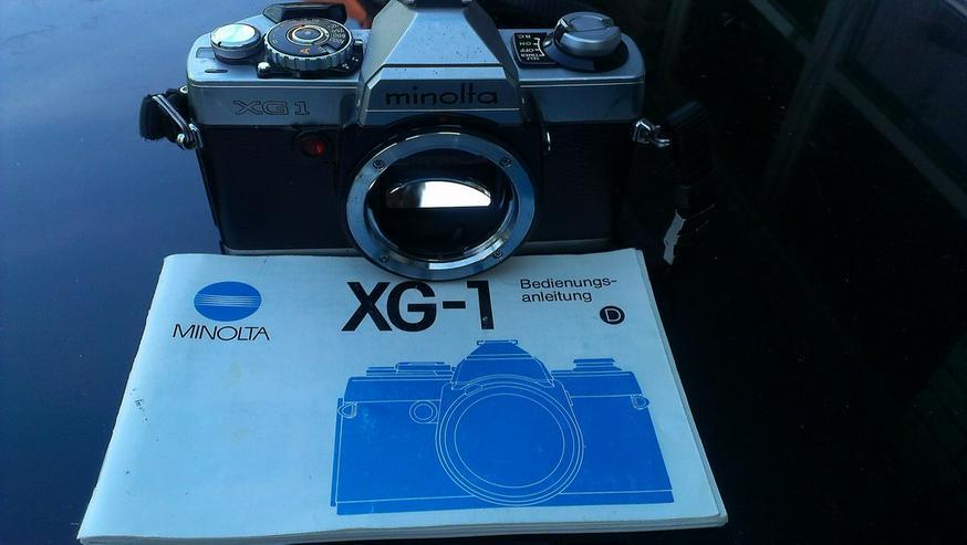 Minolta XG1, Spiegelreflexkamera, Body