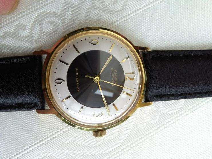 Vintage Anker Herrenuhr, Handaufzug, 21 Jewels