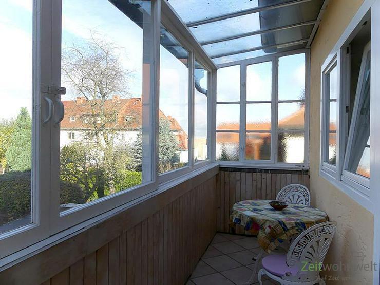 (EF0230_M) Erfurt: Löbervorstadt, ruhiges Zimmer mit eigener Veranda an Wochenendheimfahr...